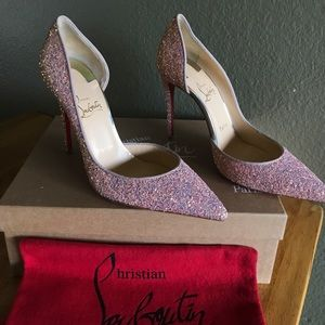 NEW AUTHENTIC Christian Louboutin Open Side Pump